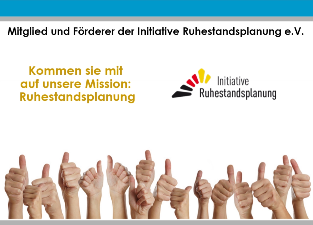 Präsentation Initiative Ruhenstandsplanung